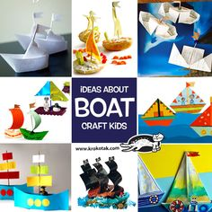 See more about Boat craft kids