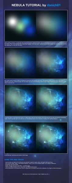 Nebula tutorial by danich01 on DeviantArt
