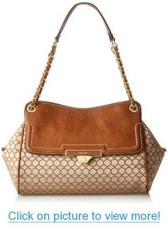 Nine West M9Sate Shoulde MD-Taupe Dk FB Shoulder Bag New Handbags f876225a19d9d