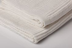 Our new baby Horizon throw in a brilliant white