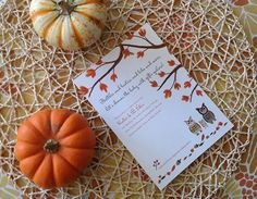 Entertaining: A Fall Baby Shower