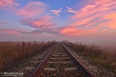 A beautiful sunrise landscape picture over a railway line near the town of Estcourt in South Africa. Estcourt is a town in the uThukela District Line Photography, Landscape Photography, South African Railways, Provinces Of South Africa, Sunrise Landscape, Free State, Sunset Pictures, Beautiful Sunrise, Landscape Pictures