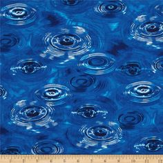 Meadow Rain Water Ripples Designed for Hoffman by JRsFabricStash, $4.50