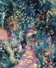 Armand Guillaumin (French, 1841-1927) - Garden at Pontcharra, c. 1901