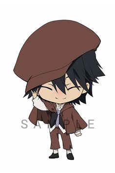 Stray Dogs Anime, Bongou Stray Dogs, Cute Anime Chibi, Kawaii Anime, Detective, Bungou Stray Dogs Characters, Literary Heroes, Edogawa Ranpo, Hand Drawing Reference