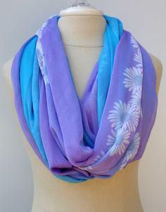 Infinity scarf Loop scarf circle scarf by PurpleSageDesignz