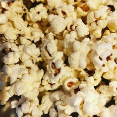 """""""popcorn"""" because sometimes #popcorn is what's for #dinner on a #friday night #goodeats #airpopped"""