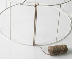 Diy Cardboard Furniture, Diy Furniture, Lampe Crochet, Luminaria Diy, Tree Branch Decor, Rope Lamp, Diy Lampe, Love Decorations, Lantern Chandelier
