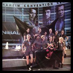 Batman army, WonderCon, Anaheim Convention Center, California