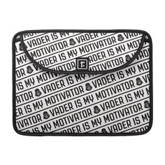 Vader Is My Motivator MacBook Pro Sleeve #star #wars #darth #vader #MacBookProSleeve