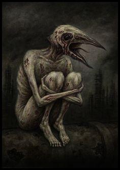 The Songless Bird by jflaxman.deviantart.com on @deviantART