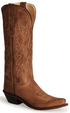"Old West Distressed Leather 15"" Cowgirl Boots - Snip Toe - Sheplers"
