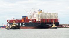 First neo-Panamax ship for Tilbury - http://www.logistik-express.com/first-neo-panamax-ship-for-tilbury/