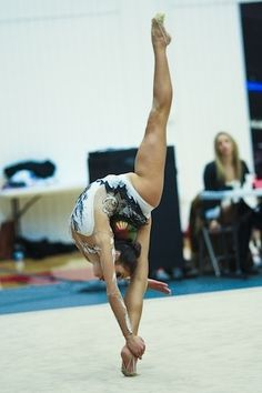 "Rhythmic Gymnastics Isn't ""Just Dancing With Ribbons On The Carpet it is every thing flexibility looks and talent"