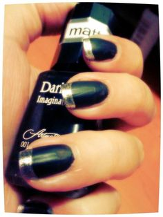 Matte Black And Silver love this