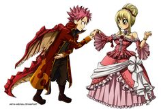 princess and her dragon nalu - Google Search