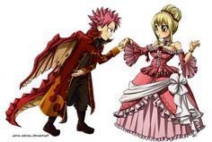 princess and her dragon nalu - Google Search