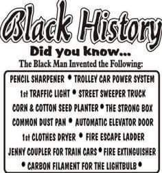 Did you know?? #blackhistorymonth