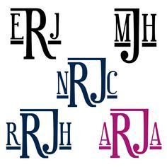 some four letter monograms