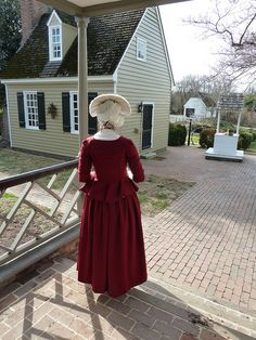 cranberry wool jacket, 1770s | Flickr - Photo Sharing!