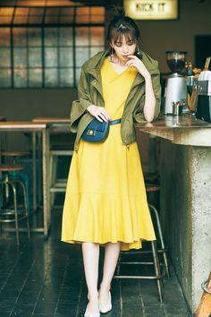 Japanese Fashion, Beauty Photography, Asian Beauty, Dress Pants, Cute Dresses, Beautiful Women, Style Inspiration, Clothes For Women, Lady