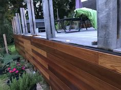 Cedar Cladding, Hardwood Decking, Outdoor Furniture, Outdoor Decor, Landscaping, Smooth, Yellow, Water, Home Decor