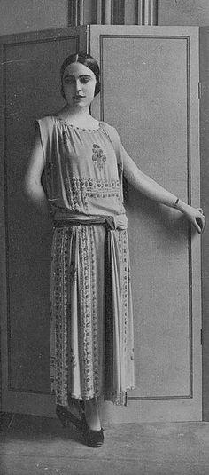 Patou Robe du Soir 1923