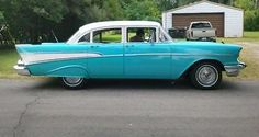 57 Chevy 210 - 4 dr