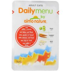 Almo Nature Daily Menu Adult Cat Chicken & BeefКорм