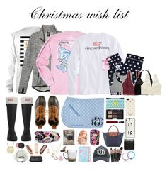 """Christmas wish list 2015"" by maliaackermann ❤ liked on Polyvore featuring Hunter, L.L.Bean, Vera Bradley, NARS Cosmetics, Lilly Pulitzer, Longchamp, Bare Escentuals, jcp, Kendra Scott and Lauren Conrad"