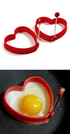 Heart egg/pancake rings