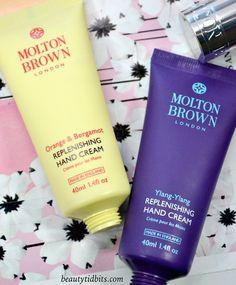 Molton Brown Replenishing Hand Creams - Orange & Bergamont and Ylang Ylang