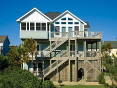 Down By The Sea, 5 bedroom Ocean View home in Waves, OBX, NC  SAT-SAT  1240/coup.  LIKE THIS ONE