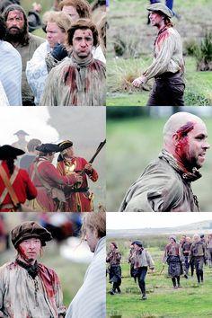 On set Season 3   Battle of Culloden   Aug. 25, 2016