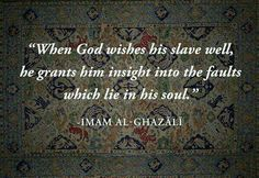 - Imam Al-Ghazali` Allah Quotes, Muslim Quotes, Quran Quotes, Faith Quotes, True Quotes, Words Quotes, Wise Words, Best Quotes, Qoutes