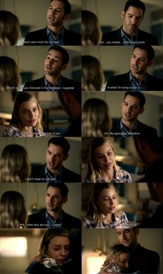 Lucifer - - My Little Monkey. Aw loved this scene. Movies Showing, Movies And Tv Shows, Series Movies, Tv Series, Netflix, Tom Ellis Lucifer, Lauren German, Morning Star, Tv Quotes
