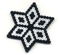 Hama perle stjerne