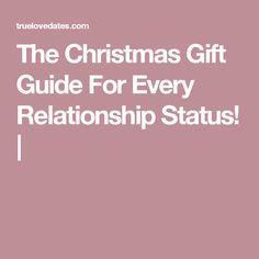 Dating relationship status