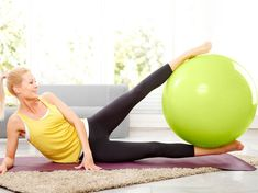 Fitness : je fais quoi avec un ballon ? Exercices Swiss Ball, Forme Fitness, Stability Ball Exercises, Health And Fitness Tips, Total Body, Full Body, Gym Equipment, Sports, Gym Douce