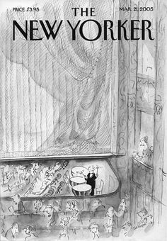 Jean-Jacques Sempé. March 21, 2005 The New Yorker cover