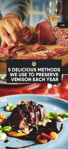 If you want to know how to preserve venison, we give you the different methods here, as well as three tasty recipes as a bonus. Deer Recipes, Wild Game Recipes, Good Food, Yummy Food, Tasty, Deer Meat, Venison Recipes, Dehydrated Food, Fruits And Veggies