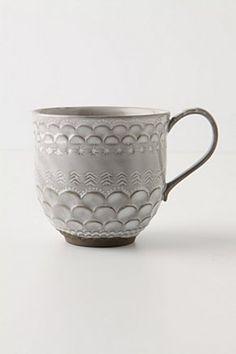 Piecrust Mug in Cloud