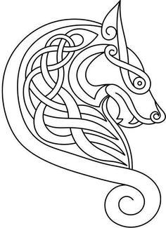 Hermosa figura Fenrir Tattoo, Rune Tattoo, Norse Tattoo, Celtic Tattoos, Viking Tattoos, Wiccan Tattoos, Inca Tattoo, Indian Tattoos, Viking Symbols