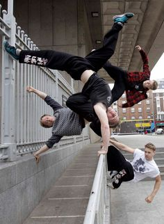 Parkour Tricksters London UK Lift your chin and Repin www.streets-united.com