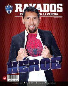 ¡Ya llegó la nueva revista de #Rayados septiembre con Jonathan Orozco en la portada!  ¿Qué te parece?