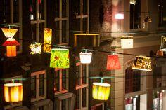 Opening night Sassenstraat Allicht 1st of November 2013 - Awesome, the lampshades lighten up everybody.   Photo: Jarno Kraayvanger  Become a fan: https://www.facebook.com/SassenstraatZwolle