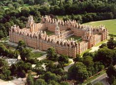 Royal Holloway University, ouskirts of London