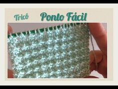 Ponto Fácil em Tricô 18 - YouTube Knitting Stiches, Knitting Patterns, Couture, Diy And Crafts, Baby Shoes, Creations, Patches, Stitch, Videos