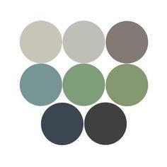 Sage Color Palette, Green Pallete, Bedroom Colour Palette, Colour Pallete, Earth Colour Palette, Green Bedroom Colors, Green Paint Colors, Green Color Schemes, Bedroom Wall Colors