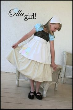 Ollie Girl Princess collection.  Cinderella in rags